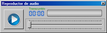 Screenshot: Reproductor de Audio