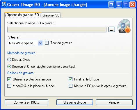 logiciel de gravure cdburnerxp