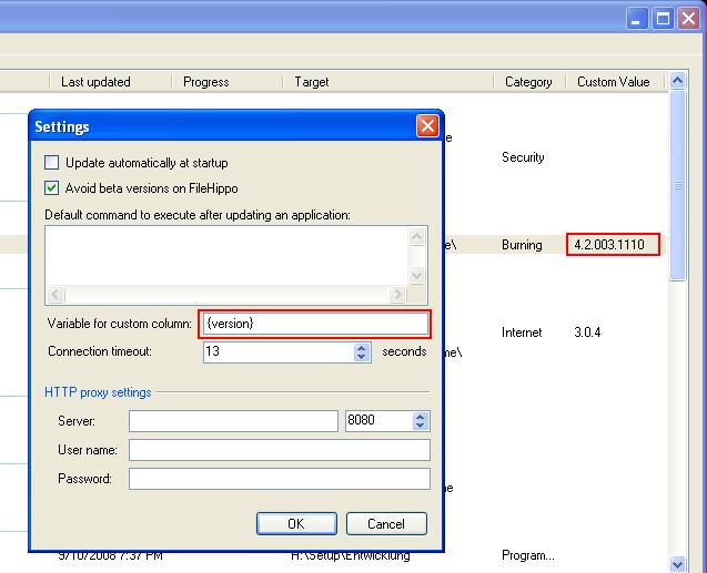 CDBurnerXP: KB20: Using Ketarin to keep setup packages up-to-date