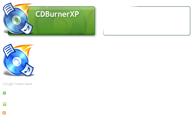 CDBurnerXP (CD Burner XP) Spritehome