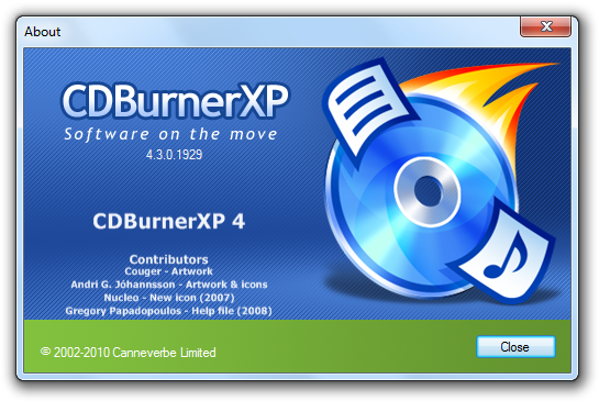 cdburnerxp descarga gratis